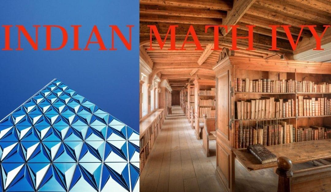 INDIAN MATH IVY