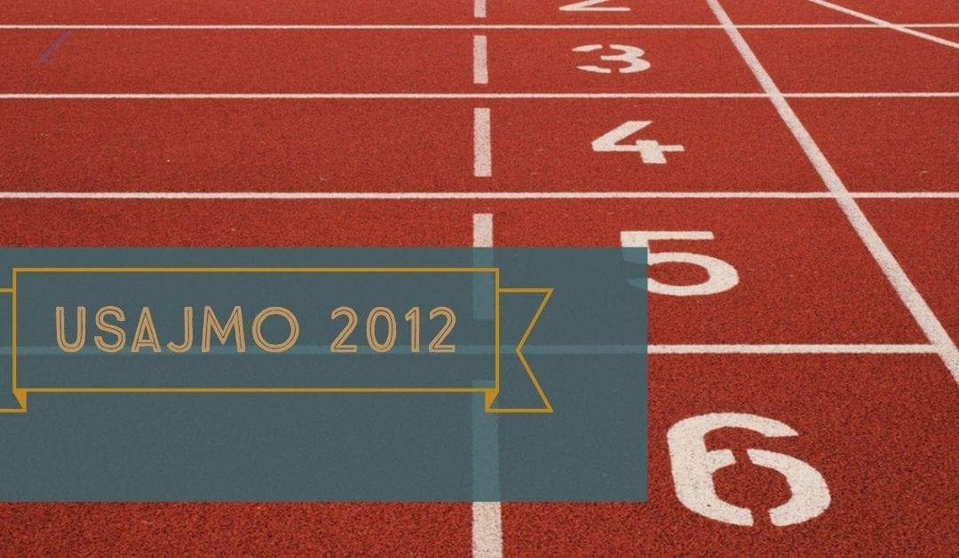 USAJMO 2012 questions