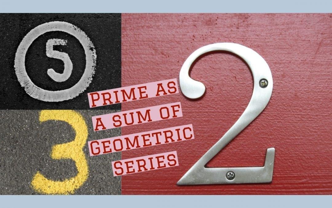 Test of Mathematics Solution Subjective 11 – Primes as sum