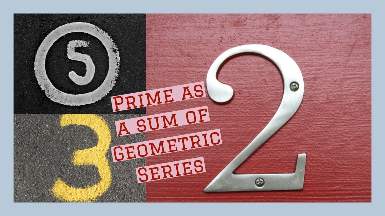 Test of Mathematics Solution Subjective 11 - Primes as sum