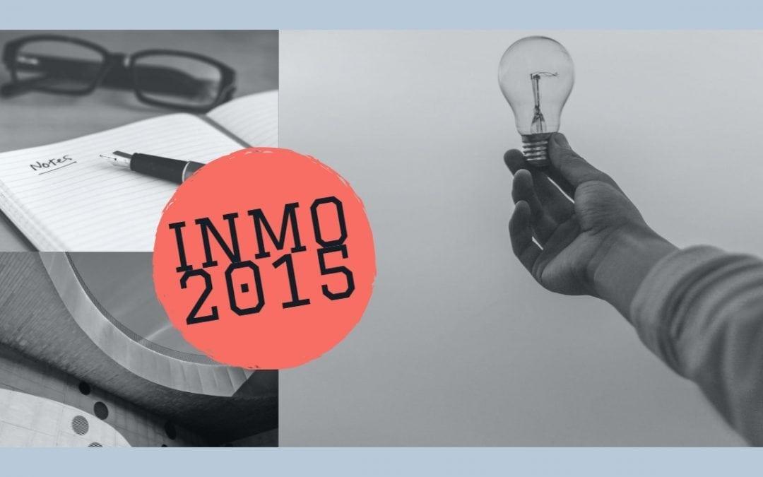 INMO 2015 (Indian National Math Olympiad)