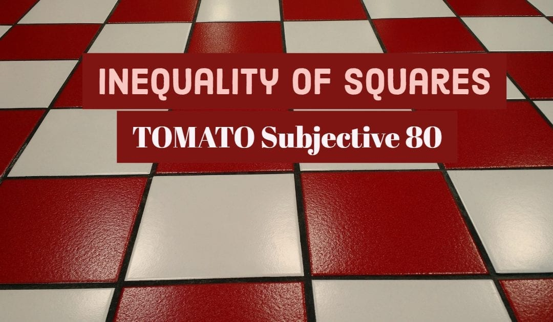 Test of Mathematics Solution Subjective 80 – Inequality of squares
