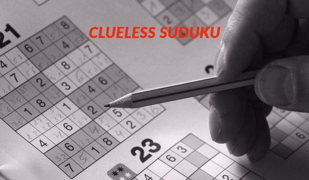 Clueless Suduku