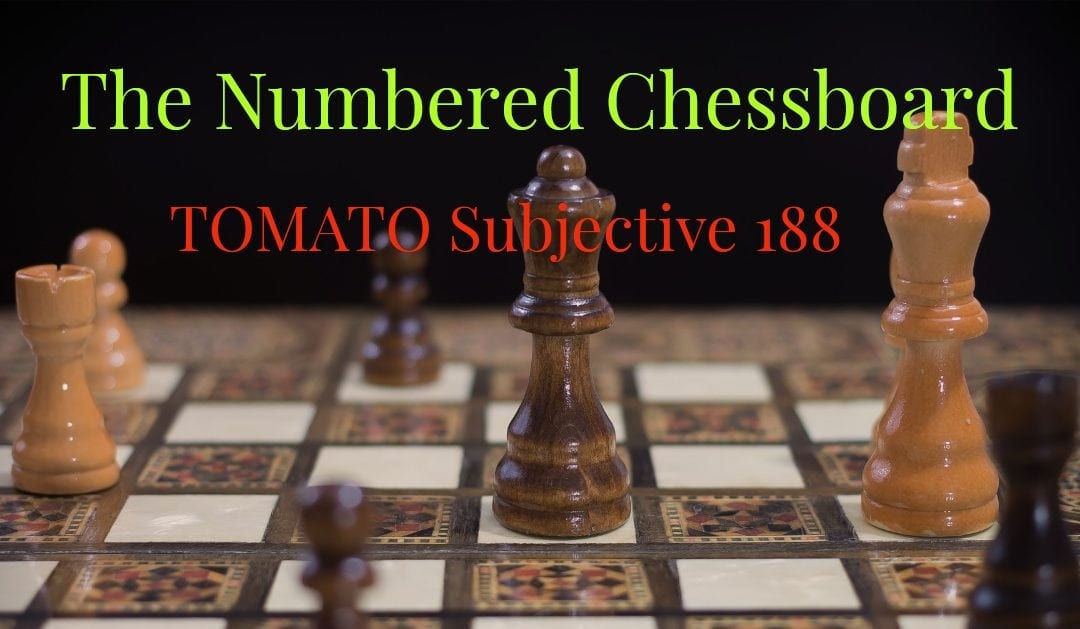 Test of Mathematics Solution Subjective 188 – The Numbered Chessboard