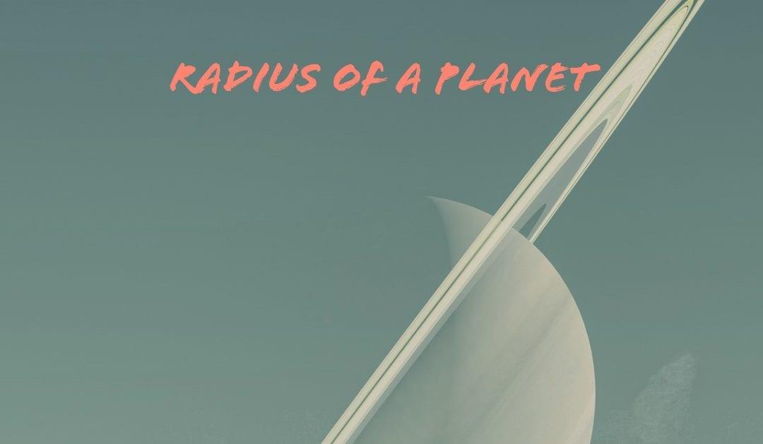 Radius of a Planet