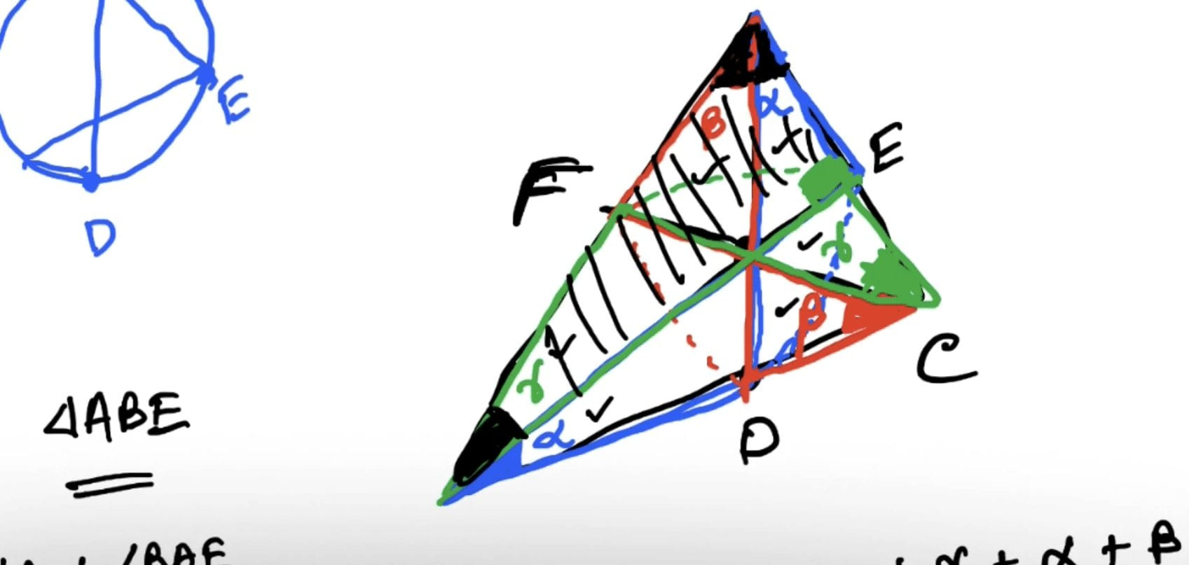 RMO 2002 Problem 1 – Ceva's Theorem