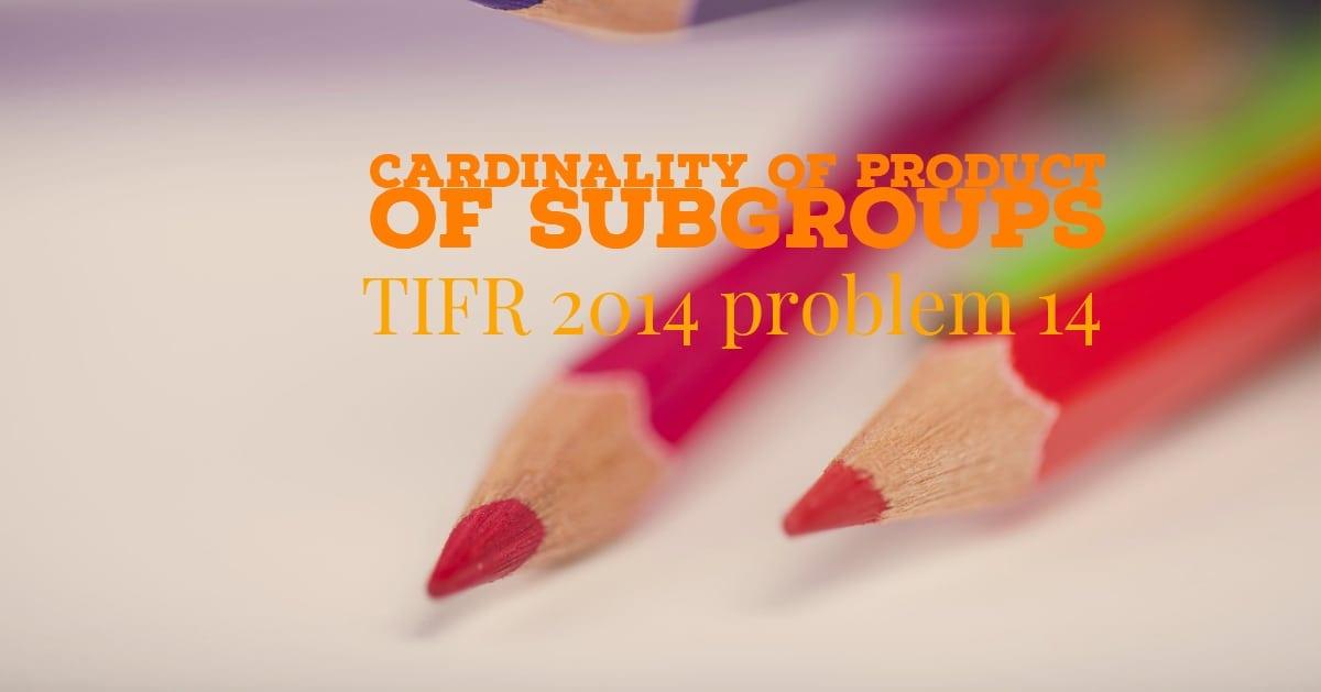 TIFR 2014 Problem 14 Solution