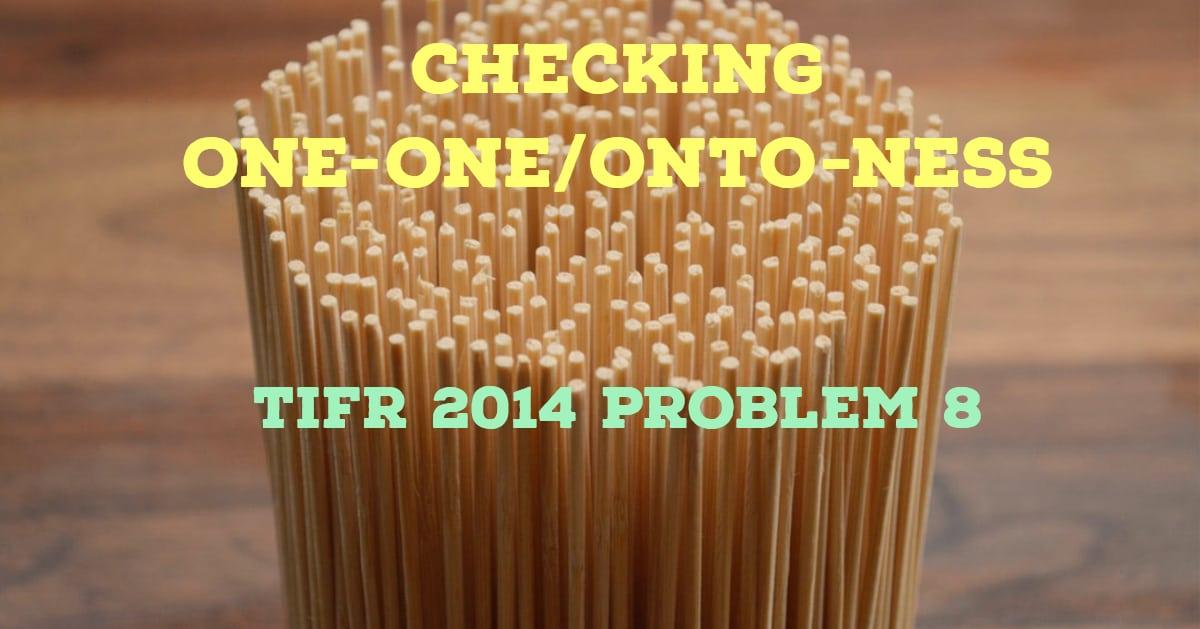 TIFR 2014 Problem 8 Solution
