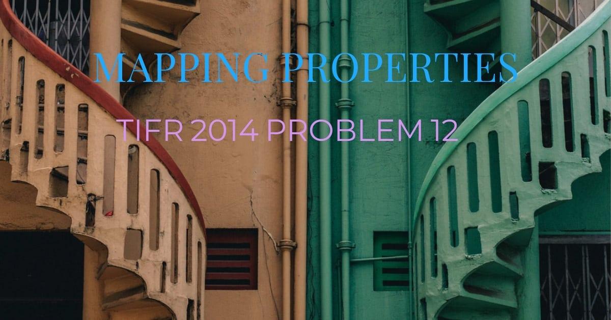 TIFR 2014 Problem 12 Solution