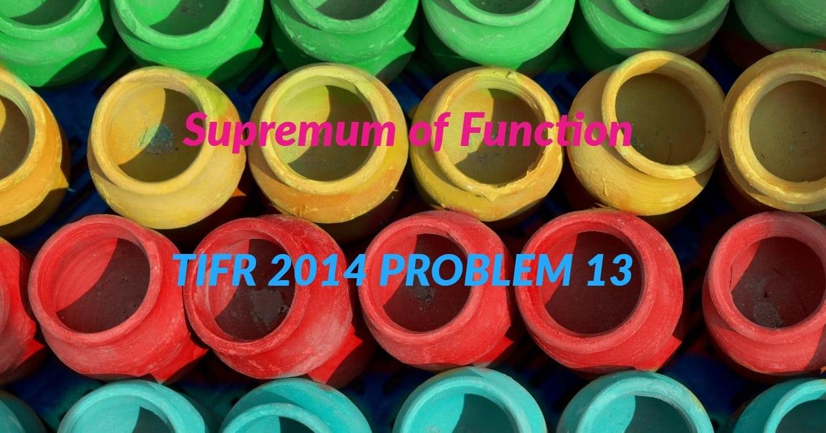 TIFR 2014 Problem 13 Solution