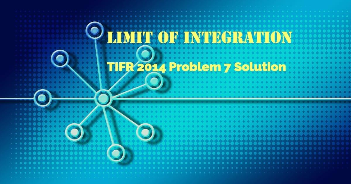 TIFR 2014 Problem 7 Solution