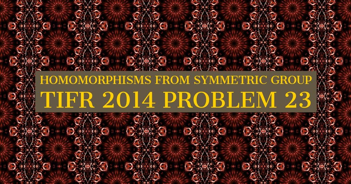TIFR 2014 Problem 23 Solution