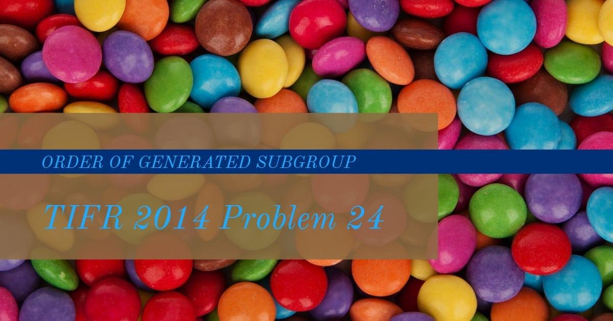 TIFR 2014 Problem 24 Solution