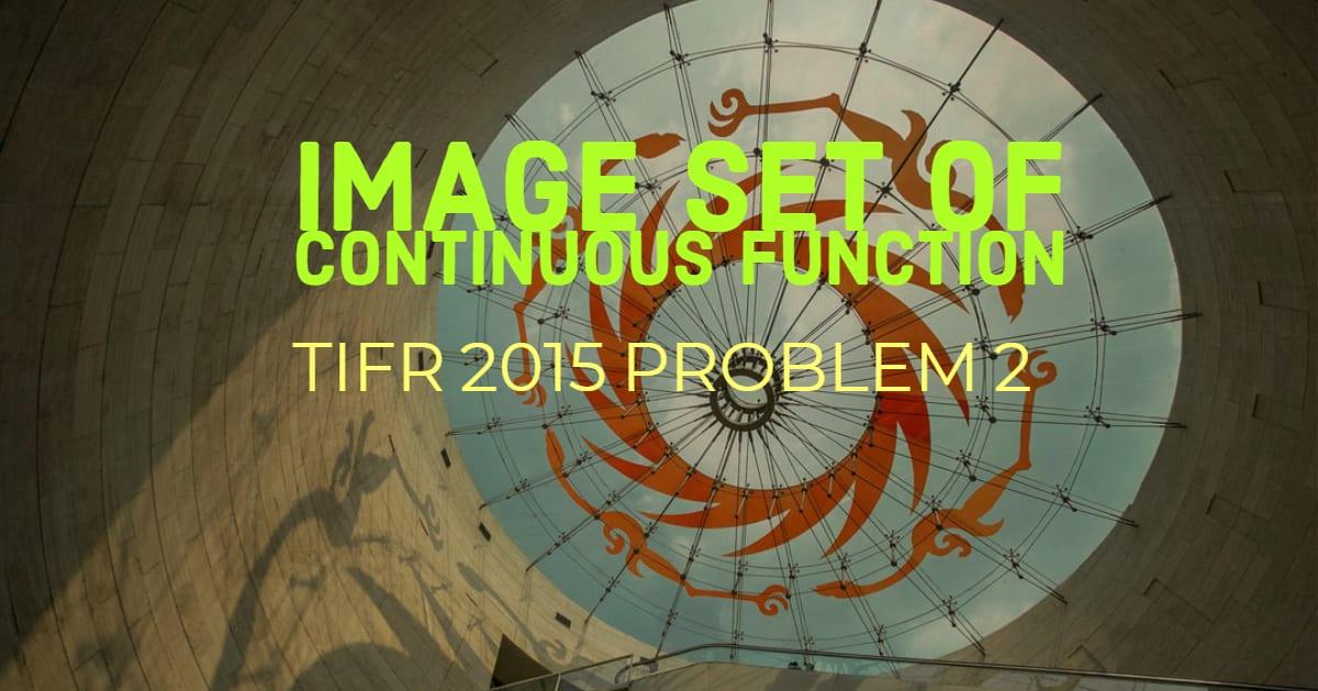 TIFR 2015 Problem 2 Solution