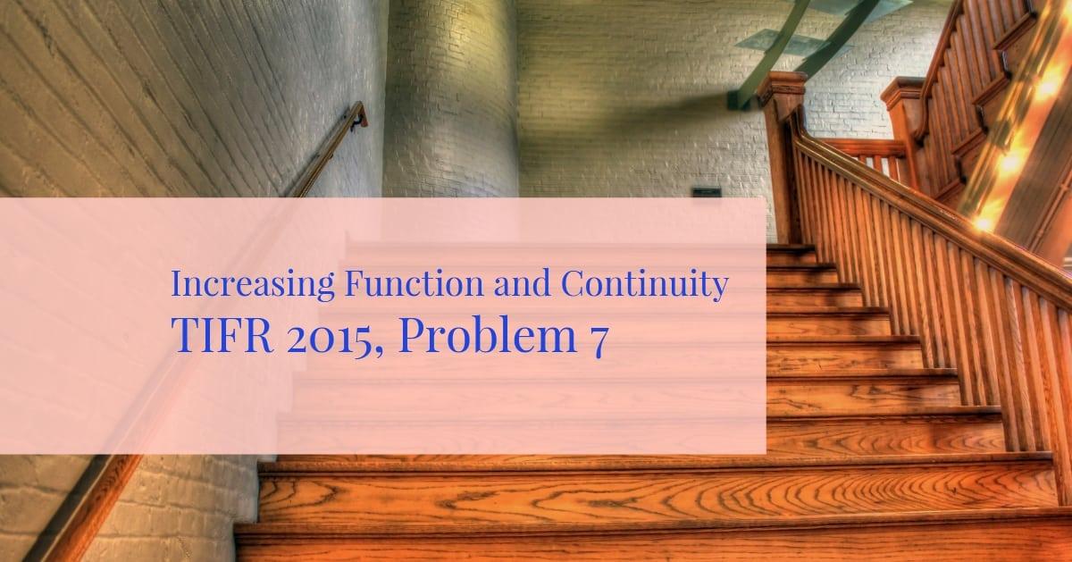 TIFR 2015 Problem 7 Solution