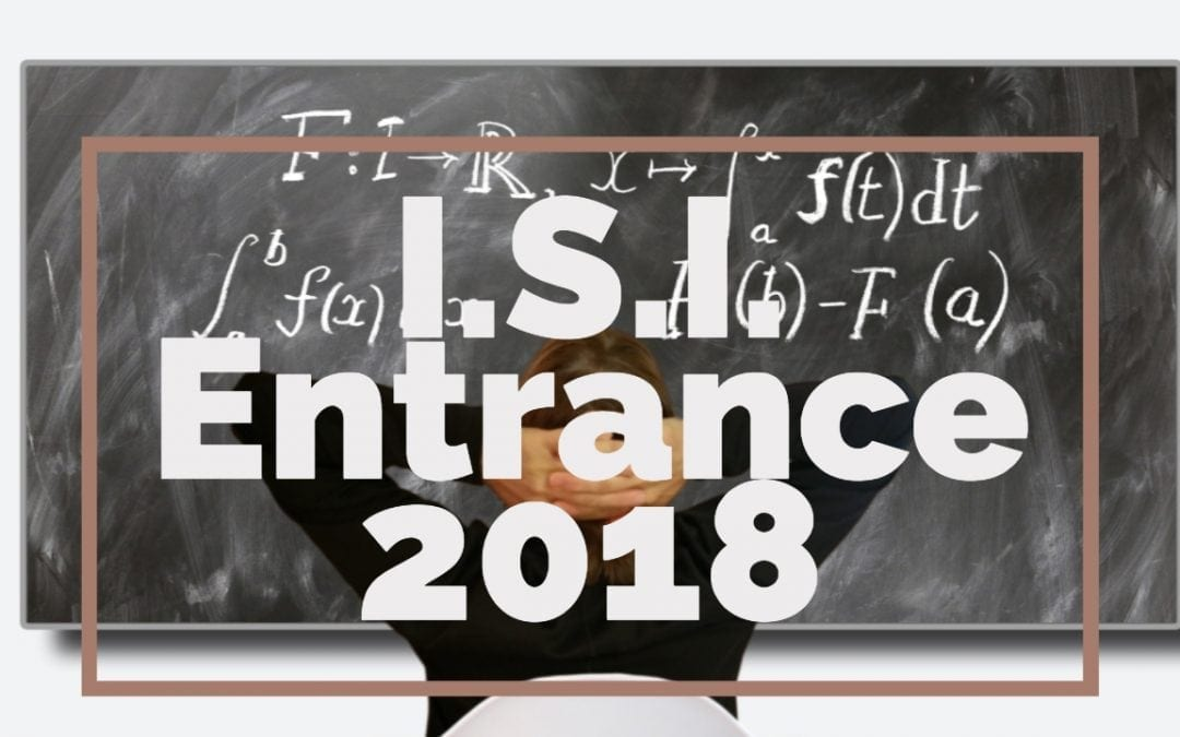 ISI Entrance Paper 2018 – B.Stat, B.Math Subjective