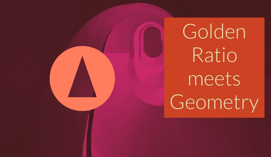 Golden Ratio and Right Triangles – when geometry meets number theory