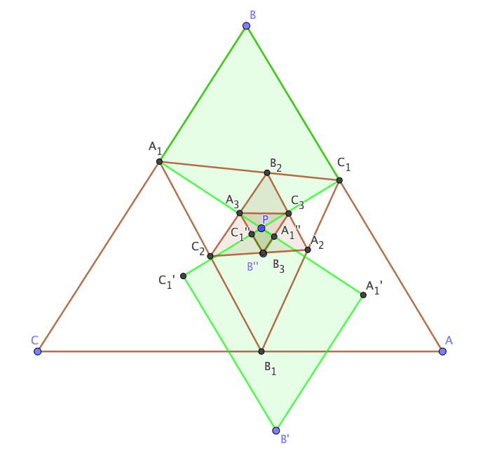 Spiral Similarity Cyclic Quadrilateral Pedal triangle