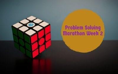 Problem Solving Marathon Week 2