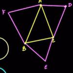 Napoleon Triangle for Math Olympiad