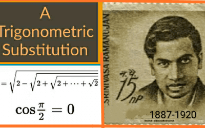A Trigonometric Substitution, ISI Entrance 2019, Subjective Solution to Problem – 6 .