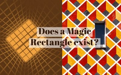 Does there exist a Magic Rectangle?