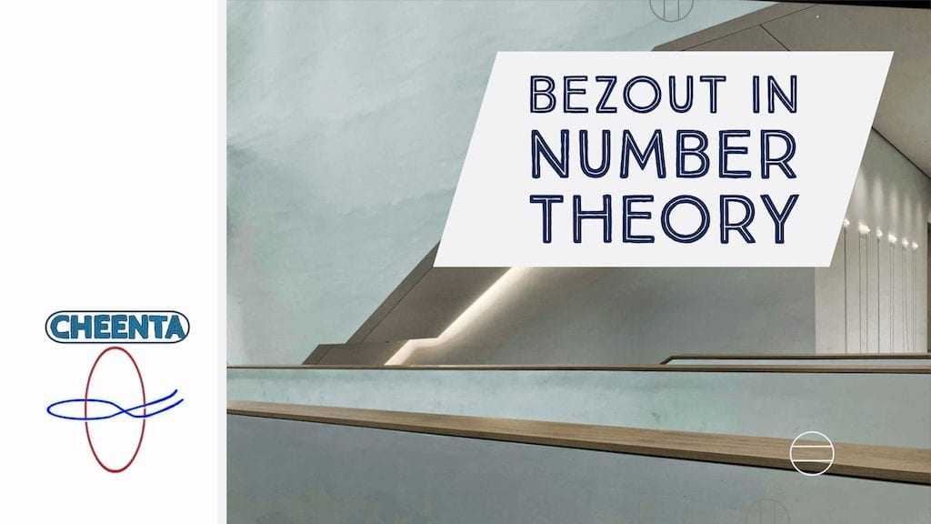 How are Bezout's Theorem and Inverse related? – Number Theory