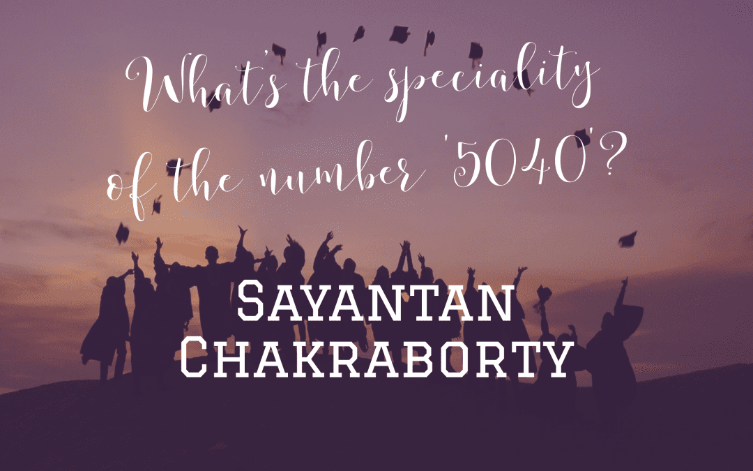 What's the speciality of the number '5040'?