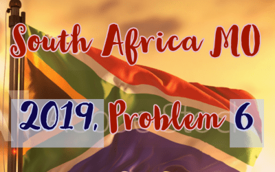 Number Theory, South Africa 2019, Problem 6