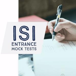 isi entrance model tests