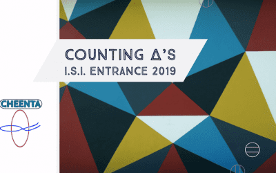 Counting triangles in ISI Entrance