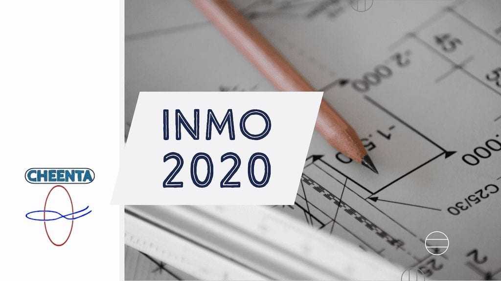INMO 2020 Solutions