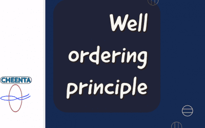 Well ordering principle and Bezout Theorem
