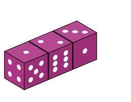 Missing numbers - dice