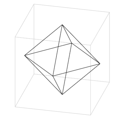 Octahedron Problem figure