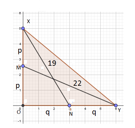 Finding side of Triangle - figure