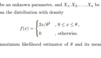 Maximum Likelihood Estimation | ISI MStat 2017 PSB Problem 8