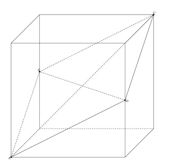 Problem on Cube - figure