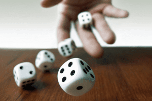 How to roll a Dice by tossing a Coin ? Cheenta Statistics Department
