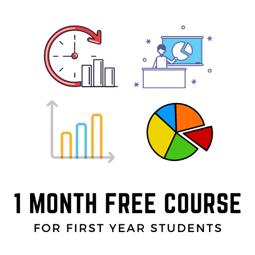 One month free course for B.Sc in Statistics Hons