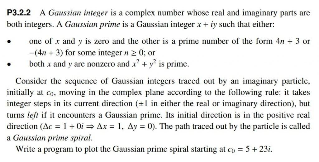 Gaussian Integer and Primes Problem